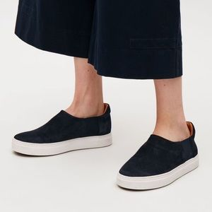 COS Slip On Leather Sneaker in Suede